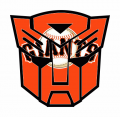 Autobots San Francisco Giants logo iron on transfers
