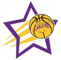 Los Angeles Lakers Basketball Goal Star decal sticker