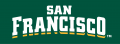 San Francisco Dons 2012-Pres Wordmark Logo 06 iron on transfer