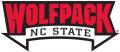North Carolina State Wolfpack 2006-Pres Wordmark Logo 01 iron on transfer