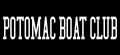 POTOMAC BOAT CLUB Logo iron on sticker