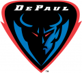DePaul Blue Demons 1999-Pres Alternate Logo 01 decal sticker