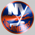 New York Islanders Stainless steel logo decal sticker