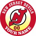 NEW JERSEY DEVILS iron on transfer