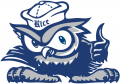 Rice Owls 2010-2016 Mascot Logo iron on transfer