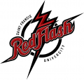 Saint Francis Red Flash 2012-Pres Primary Logo decal sticker