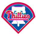 Phantom Philadelphia Phillies logo decal sticker