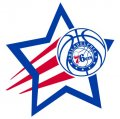Philadelphia 76ers Basketball Goal Star decal sticker