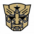 Autobots New Orleans Saints logo decal sticker