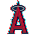 Phantom Los Angeles Angels of Anaheim logo decal sticker