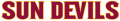 Arizona State Sun Devils 2011-Pres Wordmark Logo 13 decal sticker