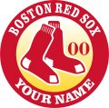 BOSTON RED SOX iron on transfer