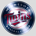 Minnesota Twins Stainless steel logo iron on transfer
