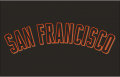 San Francisco Giants 2001-2002 Jersey Logo iron on transfer