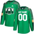 Ottawa Senators Custom Letter and Number Kits for Green Jersey