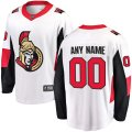 Ottawa Senators Custom Letter and Number Kits for White Jersey