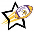 Minnesota Vikings Football Goal Star iron on transfer