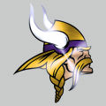 Minnesota Vikings Stainless steel logo iron on transfer