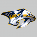 Nashville Predators Stainless steel logo decal sticker