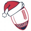 Houston Texans Football Christmas hat iron on transfer