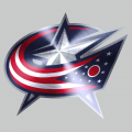 Columbus Blue Jackets Stainless steel logo decal sticker