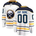 Buffalo Sabres Custom Letter and Number Kits for White Jersey