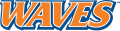 Pepperdine Waves 2004-Pres Wordmark Logo 02 decal sticker