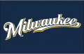 Milwaukee Brewers 2016-2019 Jersey Logo decal sticker