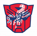 Autobots Los Angeles Dodgers logo iron on transfers