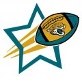Jacksonville Jaguars Football Goal Star iron on transfer