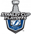 Tampa Bay Lightning 2017 18 Event Logo decal sticker
