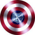 captain american shield with memphis grizzlies logo iron on transfer