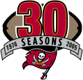 Tampa Bay Buccaneers 2005 Anniversary Logo iron on transfer