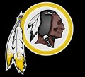 washington redskins 1983-pres primary plastic effect logo iron on transfer