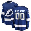 Tampa Bay Lightning Custom Letter and Number Kits for Blue Jersey