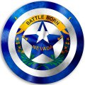 CAPTAIN AMERICA Nevada State Flag iron on transfer