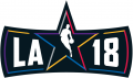 NBA All-Star Game 2017-2018 Wordmark decal sticker