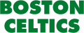 Boston Celtics 1977-Pres Wordmark Logo decal sticker