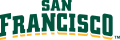 San Francisco Dons 2012-Pres Wordmark Logo 07 iron on transfer