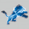 Detroit Lions Stainless steel logo iron on transfer