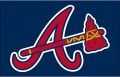 Atlanta Braves 2007-2017 Cap Logo iron on transfer