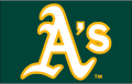 Oakland Athletics 2014-Pres Jersey Logo iron on transfer