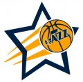 Utah Jazz Basketball Goal Star decal sticker
