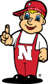 Nebraska Cornhuskers 2004-Pres Mascot Logo 01 decal sticker