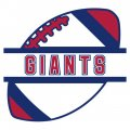 Football New York Giants Logo iron on transfer