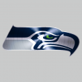 Seattle Seahawks Stainless steel logo iron on transfer