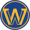 Golden State Warriors 2019-20-Pres Alternate Logo decal sticker