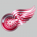 Detroit Red Wings Stainless steel logo decal sticker