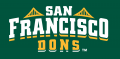 San Francisco Dons 2012-Pres Wordmark Logo 03 iron on transfer