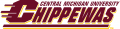 Central Michigan Chippewas 1997-Pres Wordmark Logo 02 iron on transfer